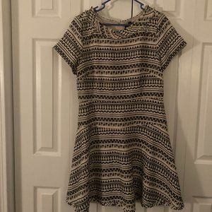 NWT Banana Republic Geometric Print Tweed Dress